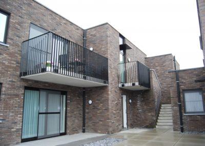 2013 – 2015 Gingelom – Borlo, Homsemstraat: vervangingsbouw 7 appartementen