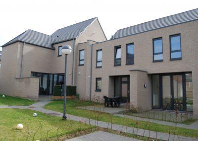 2014 – 2015 Gingelom – Jeuk, hoek Hout- & Rampariestraat: vervangingsbouw 5 appartementen