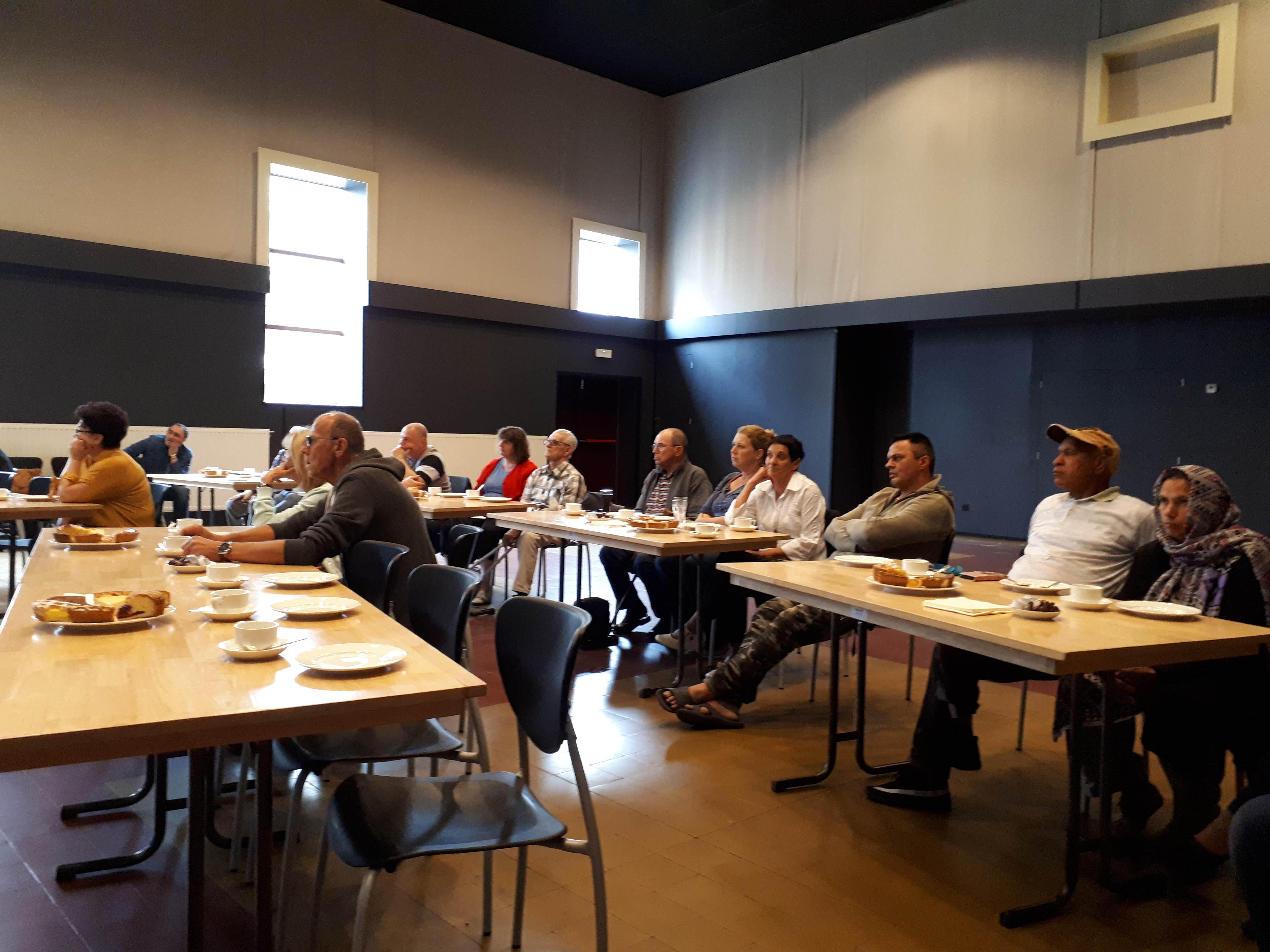 14 juni 2018 – tweede infodag renovatiewerken wijk Kleine Brede Akker