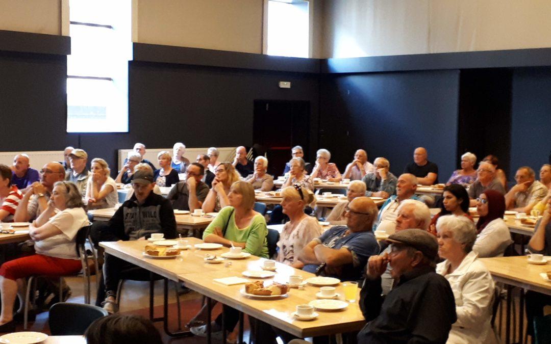 15 juni 2018 Infovergadering renovatie wijk Grote Brede Akker
