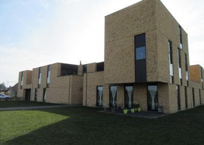 2014 – 2016 Sint-Truiden, hoek De Breden Akker & Rummenweg: nieuwbouw van 12 woningen