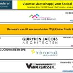 start renovatiewerken 64 woningen wijk Kleine Brede Akker