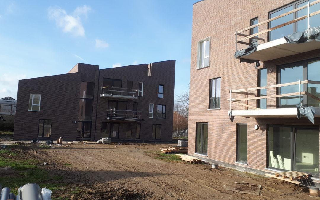 Nieuwbouwproject te Nieuwerkerken, P. Cuypersstraat bijna klaar!