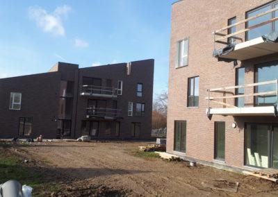 2017 – 2019 Nieuwerkerken – nieuwbouw van  8 huurappartementen en 6 koopappartementen