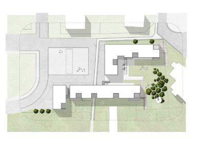 Gingelom – Steenberg – nieuwbouwproject van 12 woongelegenheden