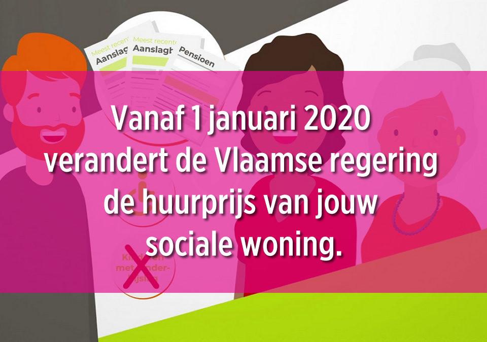 Nieuwe huurprijsberekening vanaf 1 januari 2020